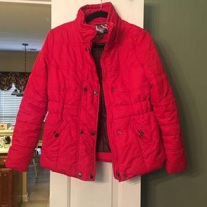Puffy ski jacket